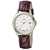 M-Watch Swiss Made Timeless Elegance Mens Date Display Watch - A661.30459.40