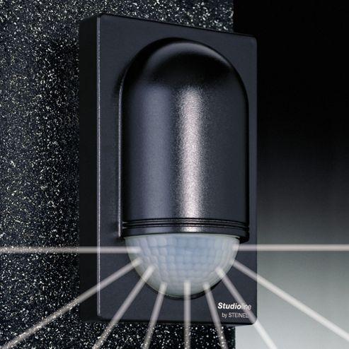 Steinel IS2180-5 Wall PIR Sensor in Black