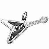 Urban Male Stainless Steel Electric Guitar Men's Pendant
