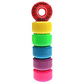 NEW Rio Roller Coaster Quad Roller Skate Wheels (4 Pack) - 2 Sizes Available