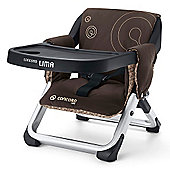 Concord Lima Folding Travel Chair (Chocolate Brown)