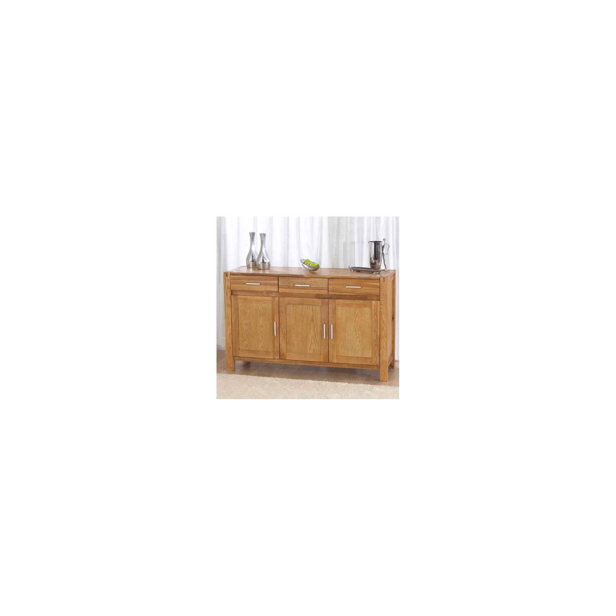 Mark Harris Furniture Verona Oak Sideboard - Large at Tesco Direct
