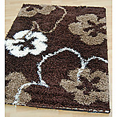 Origin Red Cosmo Brown / Beige Rug - 150cm x 80cm (4 ft 11 in x 2 ft 7.5 in)