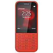 Tesco Mobile Nokia 225 Red
