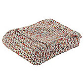 Chunky Ombre Knit Throw, Multi