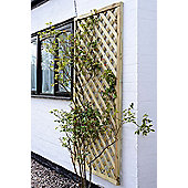 Elite Square Lattice Trellis, 0.9m - 3pack
