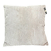 Country Club Jumbo Ribbed Filled Cushion, 55 x 55cm, Natural