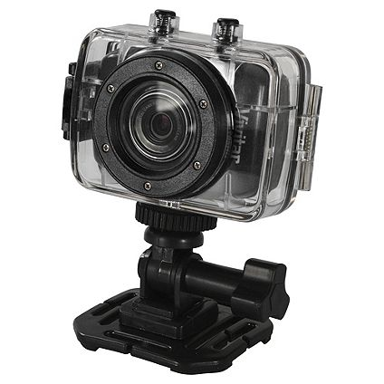 Half Price on Vivitar 5 MP action camera with accessories