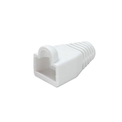 LINDY Pre-assembly RJ-45 Strain Relief Boot White (10 per pack)