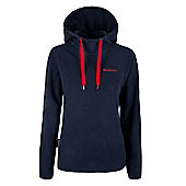 Nolana Womens Fleece Hoodie Lightweight Sweater Sweatshirt Walking Hiking Top - Blue