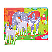 Bigjigs Toys BB008 Chunky Puzzle Horse and Foal