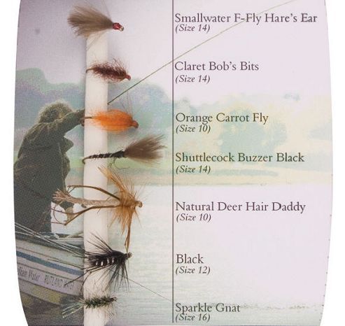 Shakespeare Fly Selection No 2 Stillwater Dries