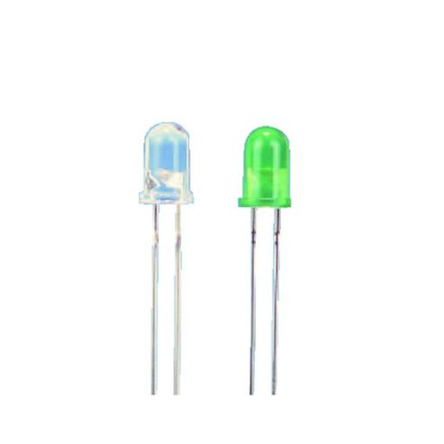 5mm Green Clr Hb LED