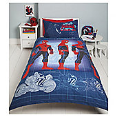 Marvel Spider-Man Blueprint Duvet Set Single