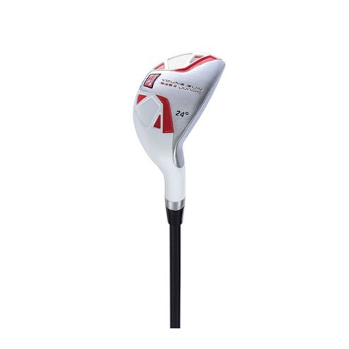 Young Gun Sgs V2 Junior Golf 24 Degree Hybrid Right Hand Red Age 9-11