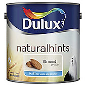 Dulux Matt Emulsion Paint, Almond White, 2.5L