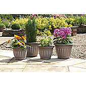 Georgian Style Planters, 4 pack