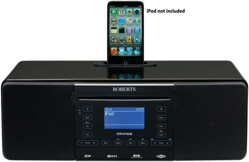 ROBERTS STREAM 63I INTERNET/DAB/FM RADIO WITH CD PLAYER AND IPOD DOCK