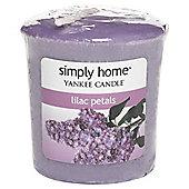Yankee Candle Votive, Lilac Petals
