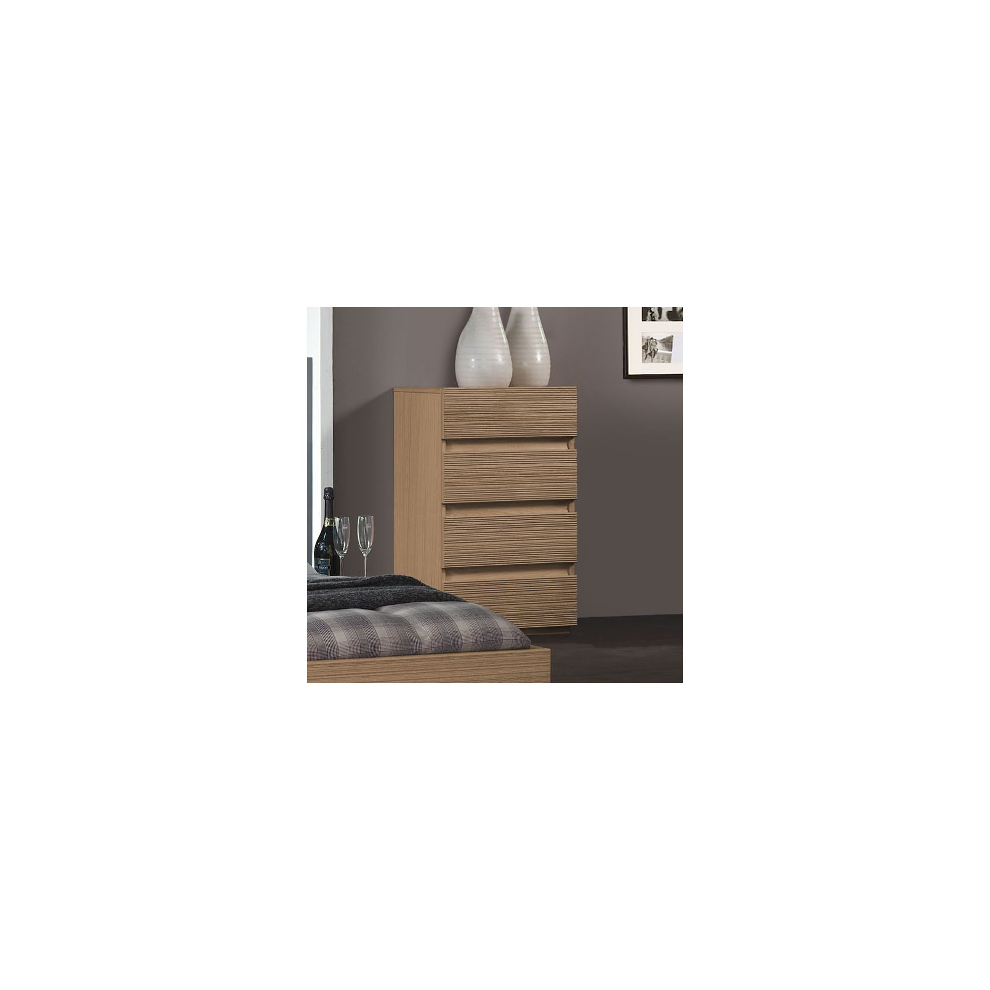 Sleepline Diva 4 Drawer Narrow Chest - Mat Lacquered at Tesco Direct
