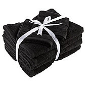 Tesco Back to Uni Towel Bale Black