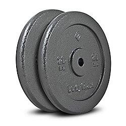 Bodymax Standard Hammertone Weight Plates - 2 x 20kg