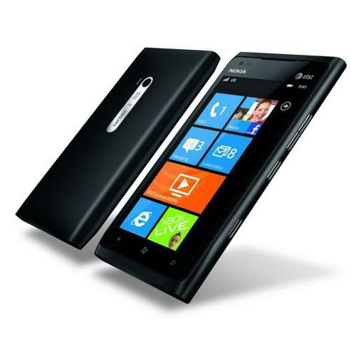 Nokia - Mobile Phones - Nokia Lumia 900 Rm-823 Cv - Uk Matt Black In