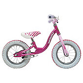 "Sunbeam Skedaddle 12"" Pink Balance Bike, Designed by Raleigh"