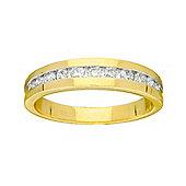 9ct Gold 0.5 Carat Eternity Diamond Ring