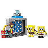 Mega Bloks SpongeBob SquarePants Movie Playset - Photo Booth Time Machine