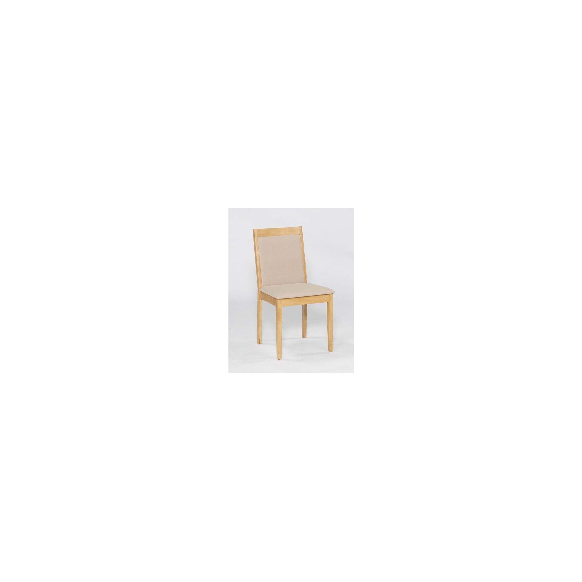 Home Zone Greenwich Dining Chair in Stucco Beige (set of 2)