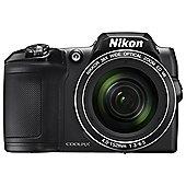 Nikon Coolpix L840 Digital Bridge Camera, BLACK
