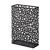 Yamazaki Nest Slim Rectangular Umbrella Stand Storage in Black 6324