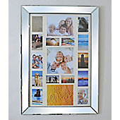 This Mirror Frame, chic, multi-picture frame will suit an environment from a hallway to a bedroom.