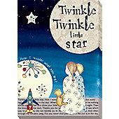 Nursery Rhymes Canvas - Twinkle Twinkle