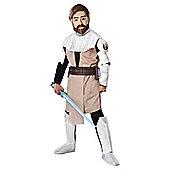 Rubies UK Deluxe Clone Wars Obi-Wan Kenobi- S