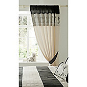 Catherine Lansfield Isadora Curtains 168x183cm Black