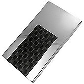 Urban Male Stainless Steel & Carbon Fibre Money Clip