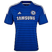 2014-15 Chelsea Adidas Home Football Shirt (Kids) - Blue
