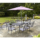 Royal Garden Classic 9-piece Extending Garden Dining Set