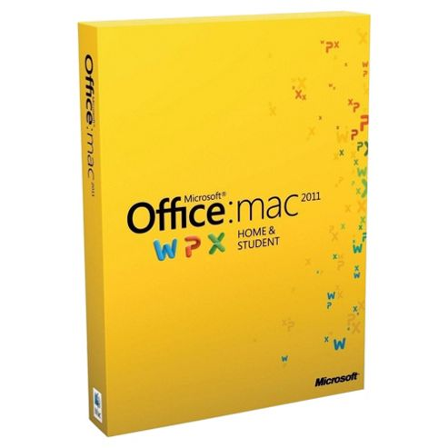 Office for Mac Home and Student 2011 (Family Pack)