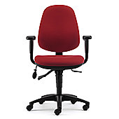 Pledge Solar High Back Task Chair - Black