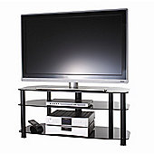 Alphason Sona Series Alpha TV Stand - Black - 50""