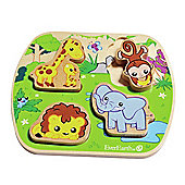 Teamson EverEarth Safari Wooden Puzzle