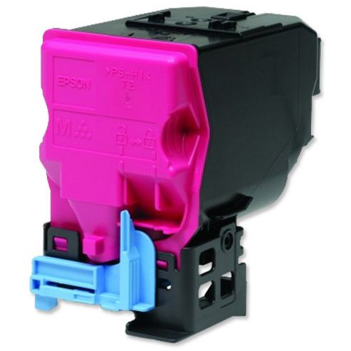 Epson Magenta High Capacity Toner Cartridge (Yield 6000 Pages) for AcuLaser C3900N/DN Laser Printers
