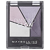 Maybelline Diamond Quad Glow Eyeshadow 01 Purple Drama