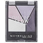 Maybelline Diamond Quad Glow Eyeshadow 01 Purple Drama