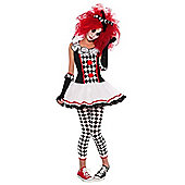 Harlequin Honey - Teen Costume 14-15 years