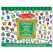 Sticker Collection - Alphabet and Numbers - Melissa & Doug