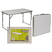 Summit Double Folding Camping Table